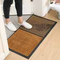 Antislip Home School Office Floor Mat Entrance Shoe Cleaning Pad Rug Carpet