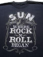 SUN Record Company XL T-SHIRT elvis presley