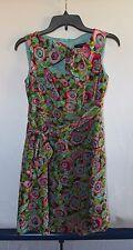 Nanette Lepore Multi-Color Floral Silk Dress Women's Sz 2