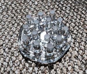 Stövchen aus Glas, modernes Design