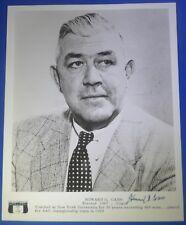 HOWARD CANN dec 1992 PSA/DNA certified signed autograph 8x10 photo NYU 1923-58
