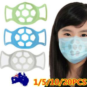 5/10/20 x Face Mask Bracket Inner Support Frame Breath Reusable Spacer Holder AU