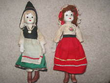 2 European bisque dolls