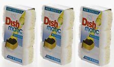 9 X dishmatic BIANCO capi non-scratch Dish matique & Dish MATIC 3 Pacchi di 3