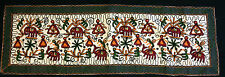 Indian handicrafts Embroidered Table Top Cloth Wall Hanging Tapestry Beautiful