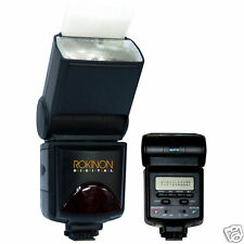Rokinon D980AFZ Power Zoom Digital TTL AF Flash w/ LCD for Canon EOS Cameras