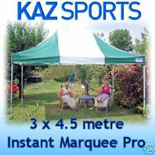 KAZ SPORTS INSTANT 3x4.5 METRE QUICK-UP MARQUEE/GAZEBO