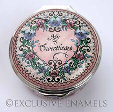 Halcyon Days Enamels Valentine's Day 2012 New In Box Enamel Box
