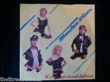 """VINYL 7"""" SINGLE - IF YOU CAN'T STAND THE HEAT - BUCKS FIZZ - RCA300"""