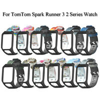Brazaletes de silicona flexible For TomTom Spark Runner 3 2 Series Watch