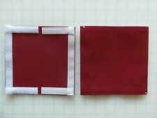 "#3m-6.5""x6.5""=3x6 usable size MAROON FISHING TACKLE & Bait COVER AND POLE WRAP"