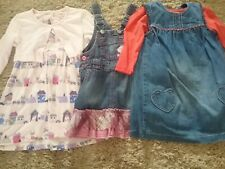 3 dresses for 18 months to 2 years girl very good condition