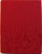 Ralph Lauren Paisley Damask Tablecloth 70 x 84 Red - NEW
