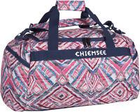 CHIEMSEE Matchbag Medium Sporttasche Reisetasche Tasche Structure Blau Neu
