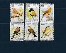 Togo   faune oiseaux   de 1996    num: 1511/16  oblitéré