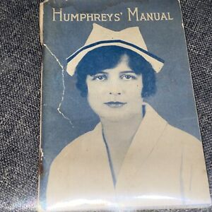 Vintage Humphreys Specific Homeopathic Medicine Co Catalogue 1928 Paperback RARE