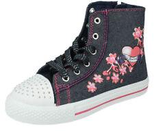 Chaussures multicolores à lacets pour fille de 2 à 16 ans