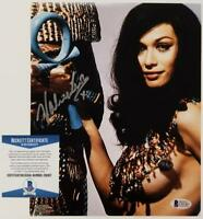 VALERIE LEON Signed 8x10 Photo #5 THE SPY WHO LOVED ME Auto ~ Beckett BAS COA