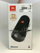 JBL Flip 5 Blue Tooth Speaker Black w/ Box and Directions