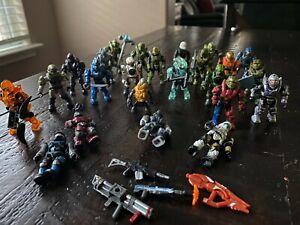 Halo Mega Bloks 24 figure Lot