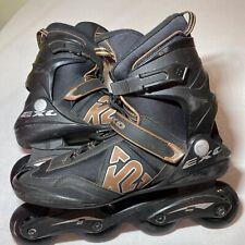 Men's Exo K2 inline Skates Roller Blades Black And Orange Men's Size 13