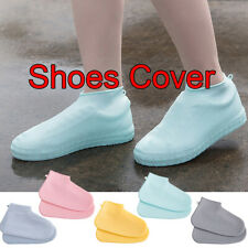 Silicone Overshoes Waterproof Shoes Sleeve Rain Boots Rainproof Shoe Cover