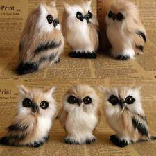 3 Sets Squishies Simulation Toys Owl Squishies Straps Mini Cute Owl Toy
