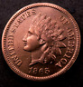 1865 Indian Head Penny Cent // Choice BU (red) // (I721)