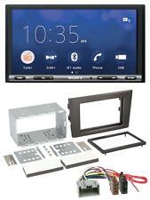 Sony USB MP3 DAB 2DIN Bluetooth Autoradio für Volvo XC 90 02-14 14 Pin