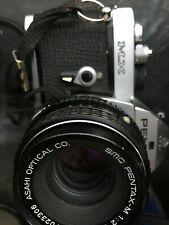 Pentax Mx 35mm Slr Film Camera Body & Lens Bundle