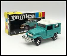TOMICA BLACK BOX 2 TOYOTA LAND CRUISER 1/60 TOMY NEW DIECAST CAR