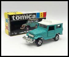 TOMICA BLACK BOX 2 TOYOTA LAND CRUISER 1/60 TOMY NEW DIECAST CAR