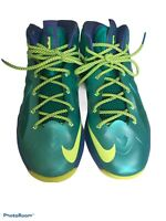 Nike Grade School Youth Lebron 10 Kids Sport Turquoise Volt Size 7y 543564-304