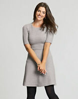 BRAVISSIMO Quilted Dress in Grey   (63)