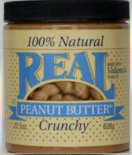 REAL Peanut Butter, All Natural Crunchy  Sold by case 6-22.5oz