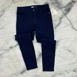 Old Navy Super Skinny Jeans Size 10 Womens Rinse Wash Wow Mid Rise 602513