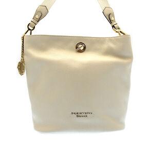 Fashion Bag SCERVINO Street Delica Beads Woman Yellow - SCBLD0000694BG