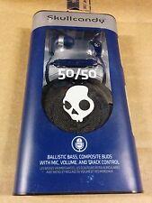 Skullcandy 50/50 In Ear Bud - Blue