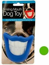 Smiling Mouth Dog Toy, Blue