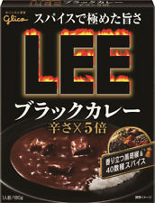GLICO JAPANESE INSTANT FOOD LEE BLACKCURRY HOTx5 (180g x 10) BEEF VERY SPICY