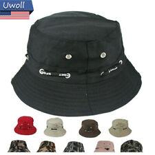 Outdoor Fashion Bucket Hat Cap Fishing Camping Brim Hat Visor Sun Summer Unisex