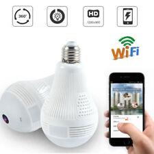 Panoramic 360° VR 960P HD IP Camera Smart LED Lights night Home Security Camera