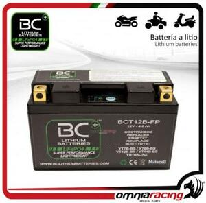 BC Battery - Batteria moto litio Ducati MONSTER 1000 S4RS TESTASTRETTA 2006>2008