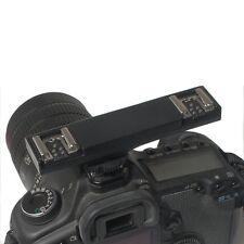 WS Dual Hot Shoe Photography Flash Speedlite Light Bracket Splitter for Nikon