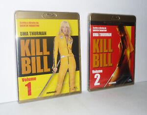 KILL BILL VOLUME 1 + VOLUME 2 - SERIE COMPLETA - 2 BLU-RAY DISC SIGILLATI