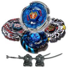Beyblade 4 Pk Storm Pegasis+Mercury Anubis Blue+Variares+Drago Black w/ 2x LL2