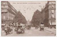 France, Paris, Boulevard des Capucines RP Postcard, B275