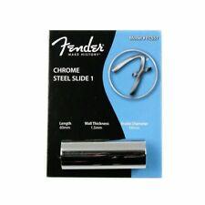 Fender Guitar Slide, 1.5mm Steel Slide for Electric Guitars
