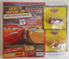 Disney Pixar CARS magazine play #07 RED+FUNNY MATER 2x sealed plastic models