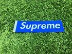 Supreme S/S 2016 Glitter Box Logo Sticker Blue
